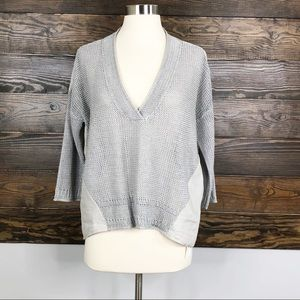 Poetry Linen Knit Blouse London Size 8/10 New